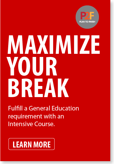 Fulfill a General Education requirement with an Intensive Course